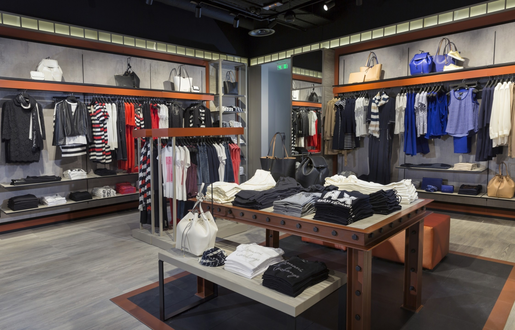 A X Armani Exchange Store at The Mall of Cyprus