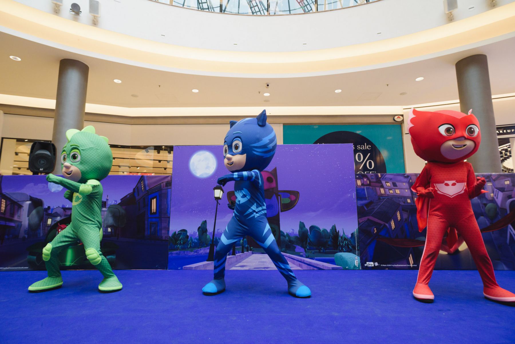 Pj Masks At The Mall Of Cyprus Photo Album