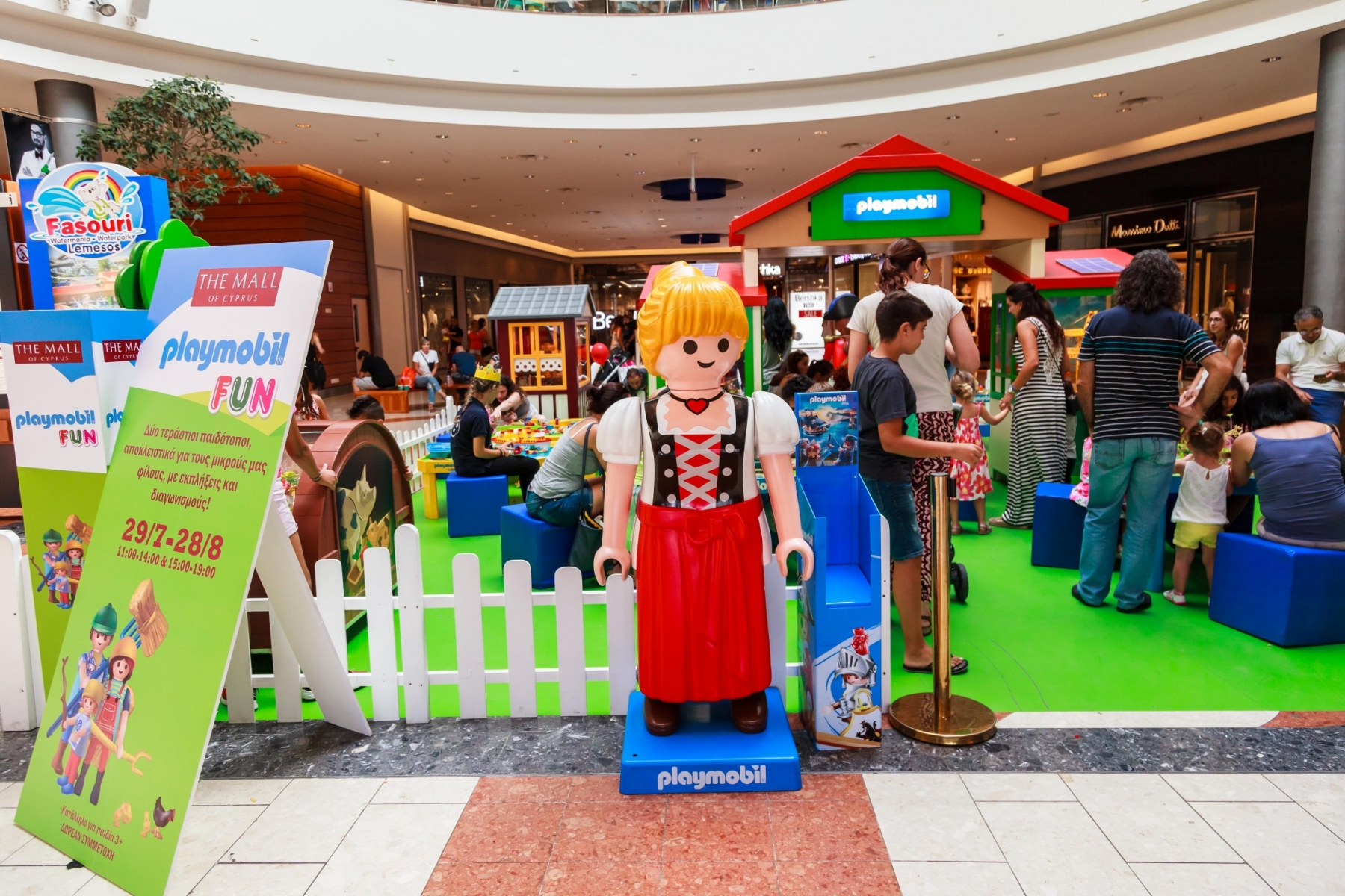 Playmobil Fun At The Mall Of Cyprus